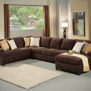 Brown Sectional Sofa With Chaise Part 65