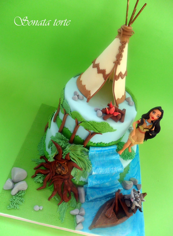17 Best Ideas About Pocahontas Cake On Pinterest Disney
