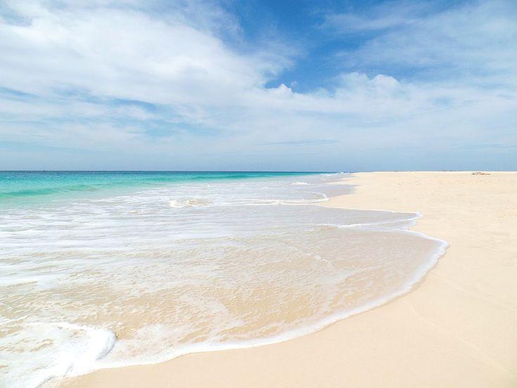 The endless sands of Boa Vista, Cape Verde