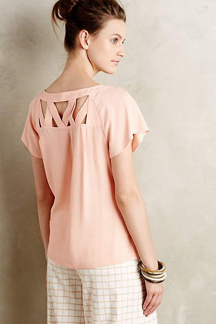 Tri-Cut Blouse - anthropologie.com #anthrofave
