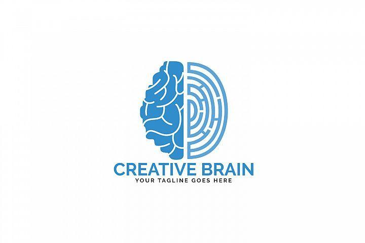 Pin By Dr Marina Kostina On Designbundles Science Symbols Logo Design Brain Logo
