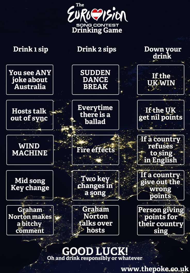 17 Best Images About Eurovision Party On Pinterest Flags Hunters And Drinking Game