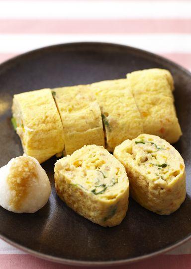 具だくさんの卵焼き~千草巻~ のレシピ・作り方 │ABCクッキング ... 材料(2人分)