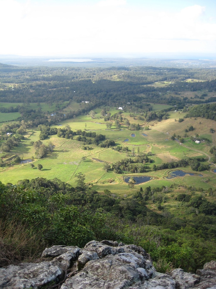 From the top of Cooroy Mountain