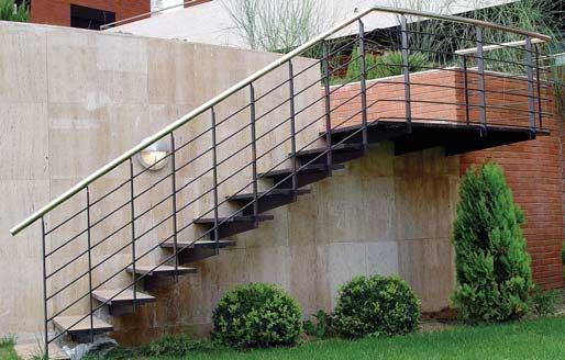 50 best escaleras images on pinterest basement stairs - Escaleras de hierro ...