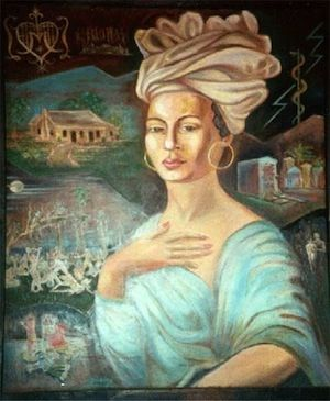 Известная как «Змеиная королева», Мария Лаво была, пожалуй, самой известной жительницей Нового Орлеана. Своё прозвище она получила из-за того, что держала у себя огромного питона по кличке Зомби. Более того, она считается основательницей культа вуду в Новом Орлеане. Местное духовенство Марию ненавидело и боялось, но сделать ей что-то в «просвещённом» 19-м веке, да ещё и в Америке, не могли.
