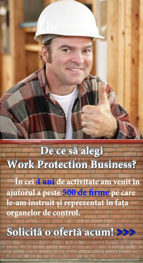 EVALUARE RISCURI | Work Protection Business