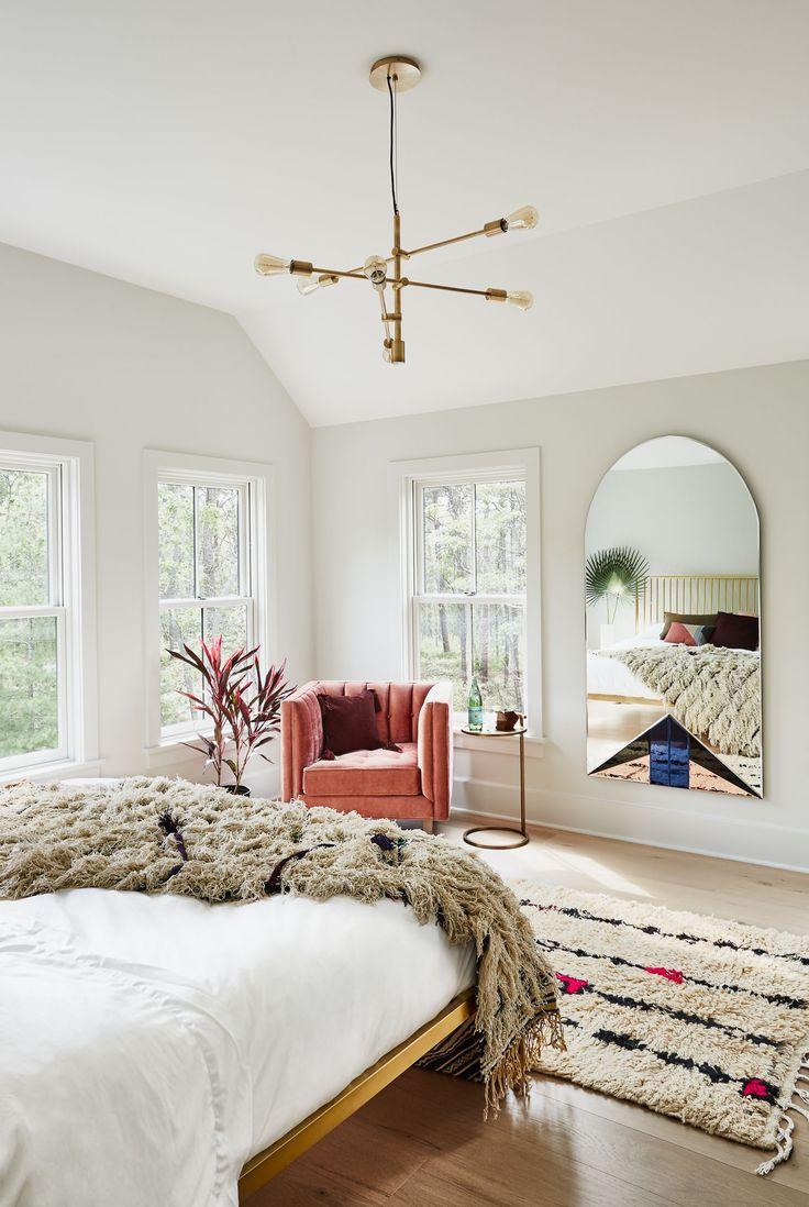 Bohemian inspired bedroom from Homepolish