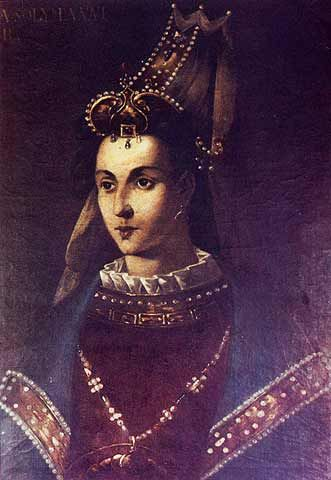 Roxelana (aka Hurram) Became Suleiman the Magnificent's chief wife. She first went to Suleiman's harem as just another concubine but eventually rose to great power in the empire. TURKEY