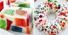 Желейный торт «Мозаика»