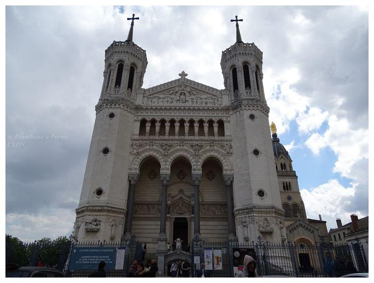 Lyon, basilique Notre Dame de Fourvière - 2016 - Framboise à Pornic