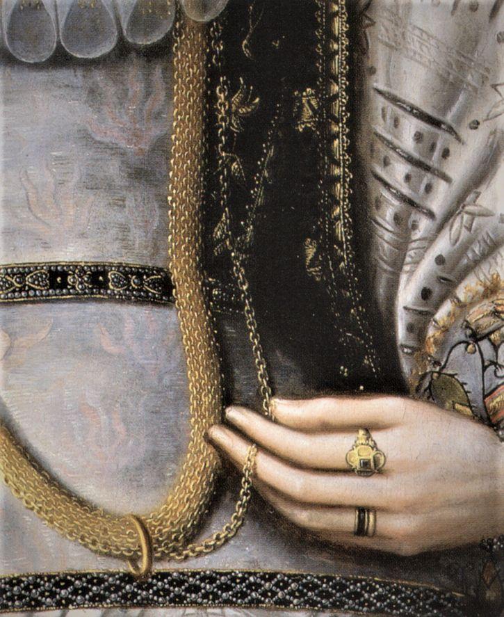 Lady by William Segar, 1585-90