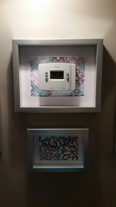Best 25 Hide Thermostat Ideas On Pinterest Thermostat