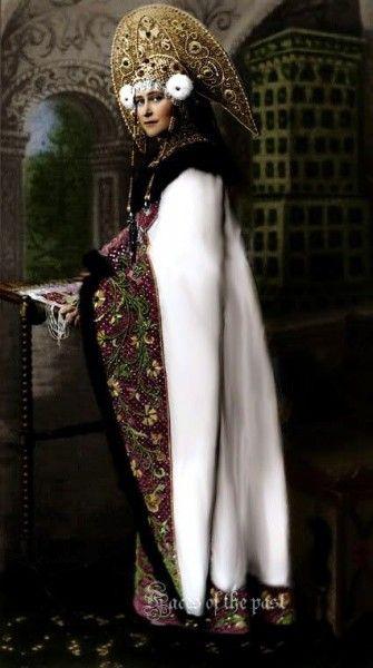Елизавета Александра Луиза Алиса Гессен-Дармштадская, после замужества - великая княгиня Елизавета Федоровна. Конец XIX века