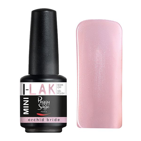 "Vernis semi-permanent I-LAK MINI ""Orchid bride-190539"" - Découvrez nos vernis semi-permanents version mini 9 ml ! Pose ultra rapide, couleurs spectaculaires et tenue longue durée. #NailPolish #NailLacquer #nail"
