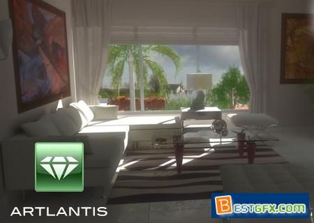 Abvent Artlantis Studio 6.5.2.12 Multilingual (Win) | 540.4 MB  Artlantis is a powerful, easy-to-use 3D rendering application developed especially for architects and designers, ideal for quickly and easily creating high resolution 3D renderings, iVisit 3D Panoramas, iVisit 3D VR Objects and animations. A recognized leader in preview window technology, Artlantis is the rendering software used by architects, designers and urban design professionals in more than 80 countries.