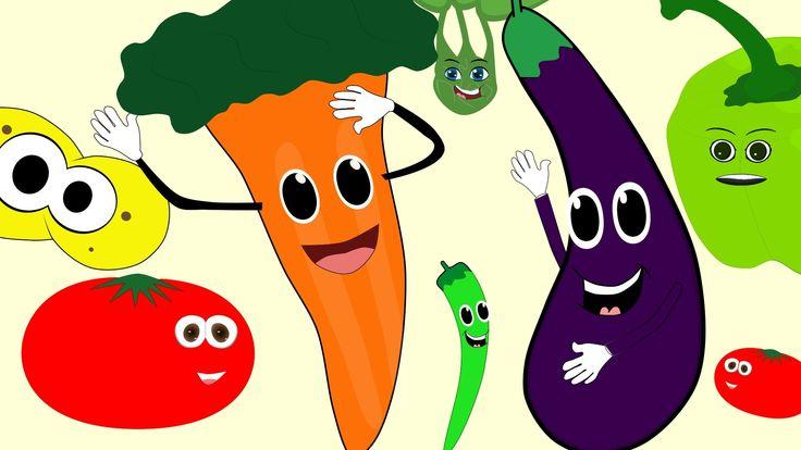 ÇOCUK ŞARKILARI - Sebzeler - Renkler -