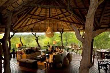 Madikwe Lodge - [Deck]  North West Province - Africa