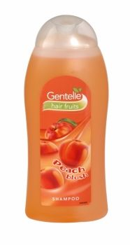 Gentelle Hair Fruits Shampoo 400ml Peach Blush The new Gentelle range provides a distinctive fruity fragrance, perfect for individual taste.