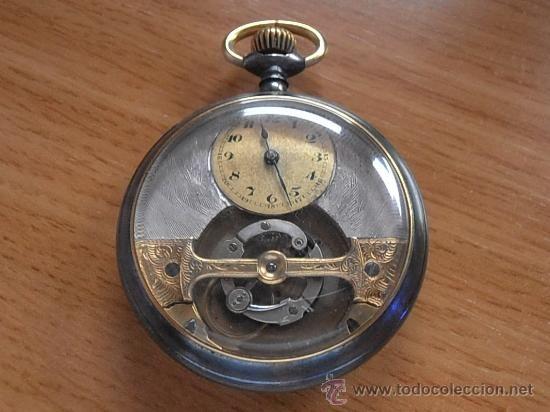 Reloj de bolsillo Tourbillon Mobilis, tipo carrusel / Relojes en todocoleccion