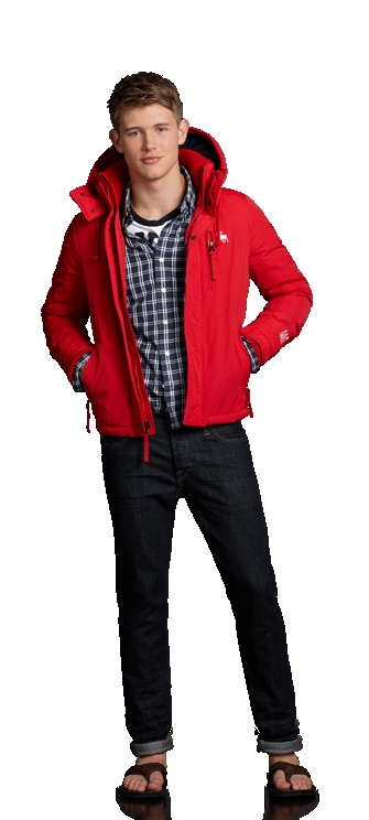 Abercrombie & Fitch - Shop Official Site - Mens - A Looks - SUMMER - OUT WITH ROOMMATES // I want this jacket for fall