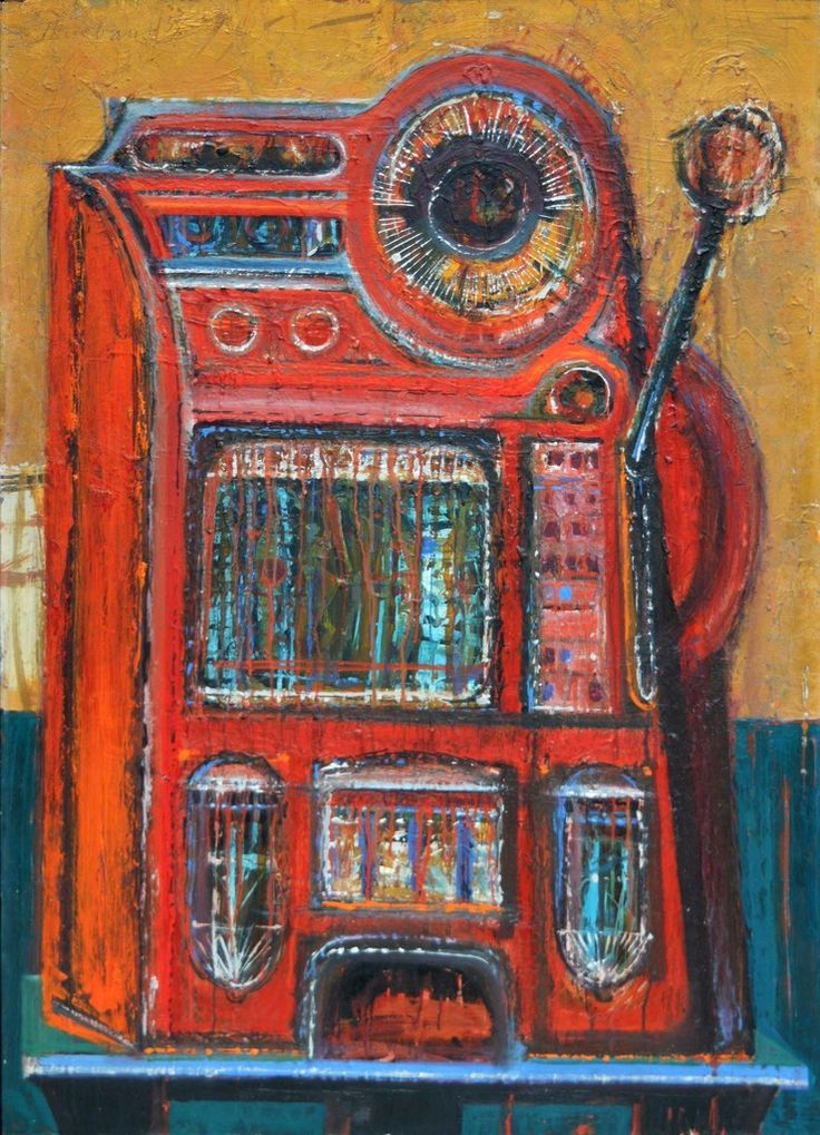 Wayne Thiebaud, Jackpot Machine, 1955, Waterhouse & Dodd