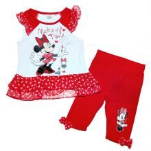 set bluza+colant minnie - rosu