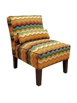 51% OFF Skyline Armless Chair, Adobe