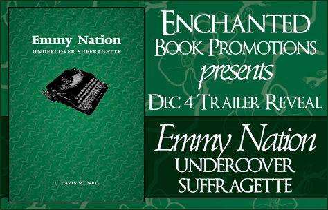 Book-o-Craze: Book Trailer Reveal -- Emmy Nation: Undercover Suf...
