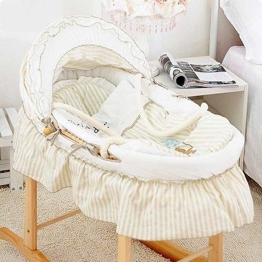 Buy fantastic hand-made natural Baby Moses Basket online in Australia from All 4 Kids at just $119.95 only. It provides your baby a perfect and safe place to sleep in any room.