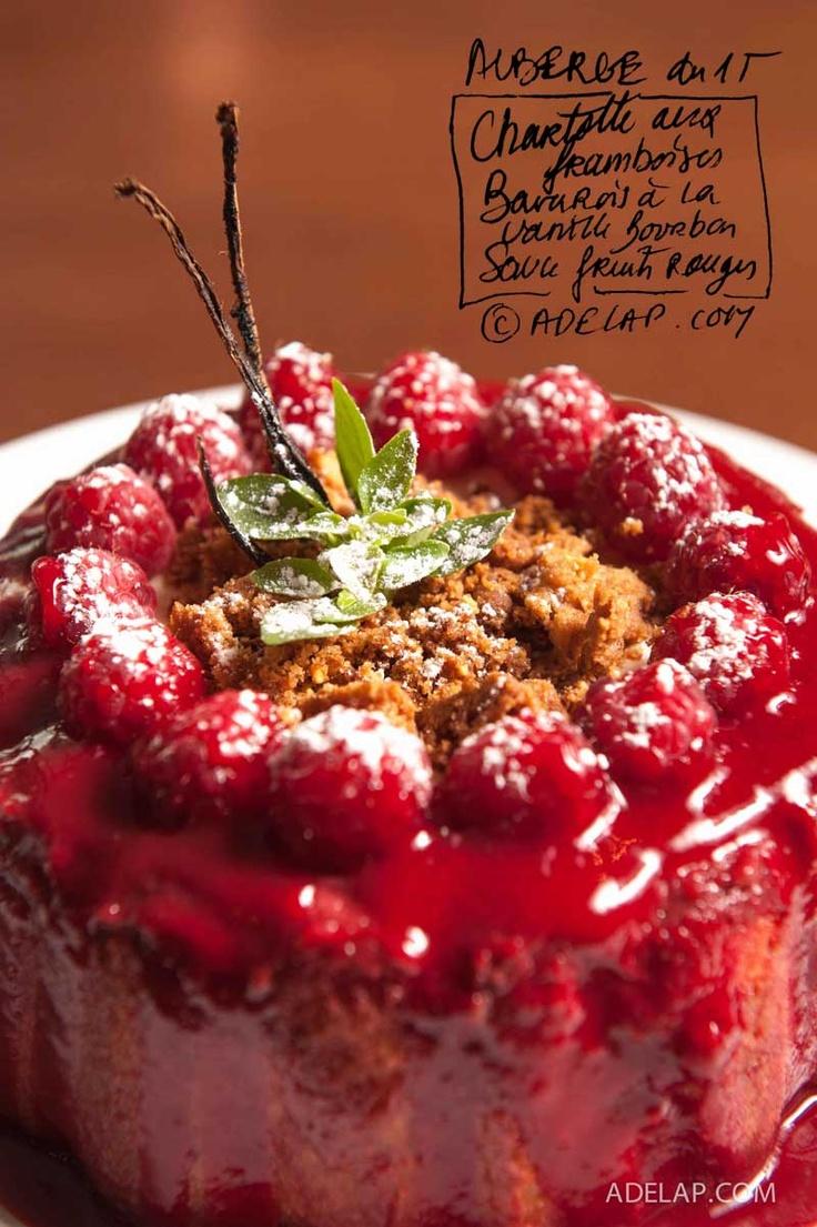 Gastronomie :: La nouvelle carte de l'Auberge du 15 du chef Nicolas Castelet. Troisième partie, les desserts