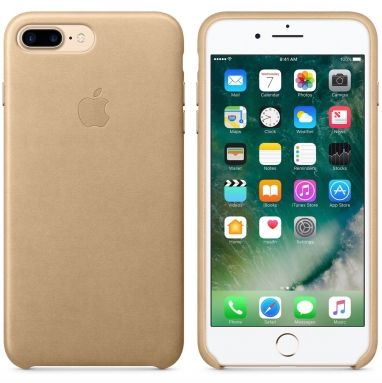 Apple iPhone 7 Plus leren hoesje Sahara-beige  SHOP ONLINE: http://www.purelifestyle.be/shop/view/technology/iphone-beschermhoezen/apple-iphone-7-plus-leren-hoesje-sahara-beige