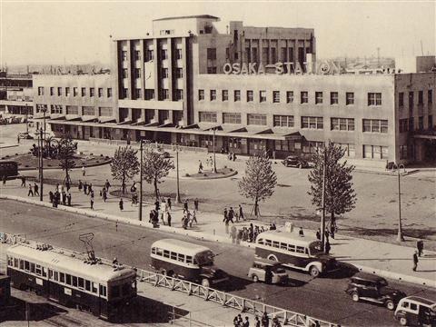 大阪駅 #Osaka #Japan #history Osaka Japan history