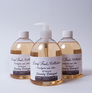 This non-toxic, all-natural fragrance is composed of essentials oils & ingredients processed from botanicals, containing no synthetic chemicals or practices. Highly Concentrated Formula:  Water, Laureth-7, Sodium Methyl-2 Sulfolaurate, Disodium 2-Sulfolaurate, Sodium Bicarbonate, Methyl Soyate, Sodium Chloride, Cocamidopropyl Betaine, Sodium Propionate, & Natural Fragrance.  *64 Loads Per 16 Oz Bottle *31 Cents Per Load *This 16 ounce bottle will do 64 loads of wash/4 pumps per load…
