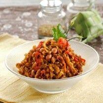 TEMPE KERING BUMBU KARI http://www.sajiansedap.com/recipe/detail/15472/tempe-kering-bumbu-kari