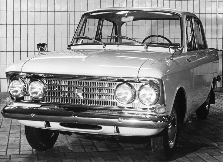 Москвич-408Э '1964–69