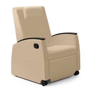 Wide Vinyl Recliner with Removable Cover #healthcarefurniture | National Business Furniture