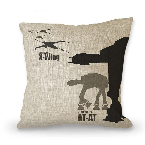 Movies pillowcase Star Wars 18 posters pillow by art888888 $29.00
