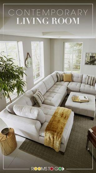 Bringen Sie vielseitige, stilvolle Sitzmöbel in Ihr Wohnzimmer mit