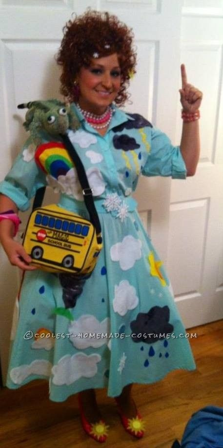 Coolest Homemade Magic School Bus Costume – Go Science!... Coolest Homemade Costumes