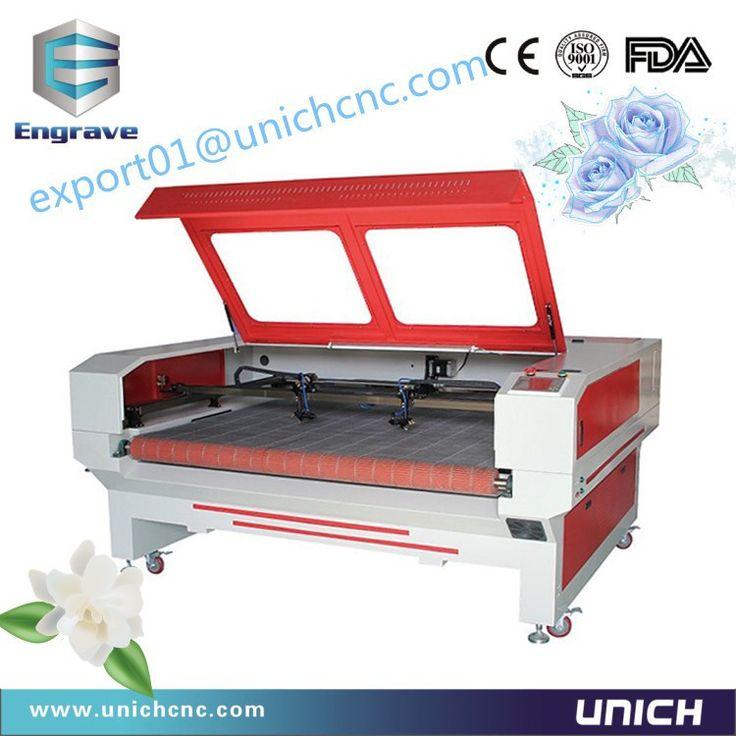 Hot style! auto feeding double-head mdf laser cutting machine price LX1610/laser cutting machine /co2 laser cutting machine#machine