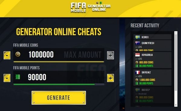 Fifa Mobile Hack - Generate Online Free Points