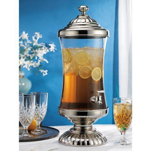 Godinger Chapel Hill 2 gal Glass Beverage Dispenser
