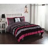 Found it at Wayfair - Leigh Ann Ruffle Comforter Set