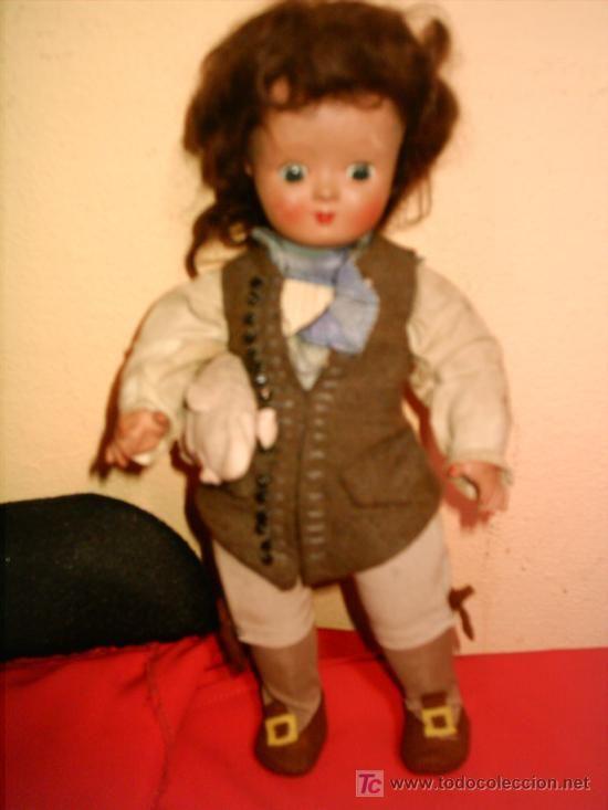 muñeca de bisque UNICA DE BELGICA. -