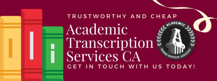 There are a lot of transcription services canada, but none of them are this good. Get more details here http://www.academictranscriptionservices.com/affordable-transcription-services-canada/
