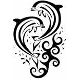 best 25 dolphins tattoo ideas on pinterest tribal dolphin tattoo dolphin drawing and can. Black Bedroom Furniture Sets. Home Design Ideas