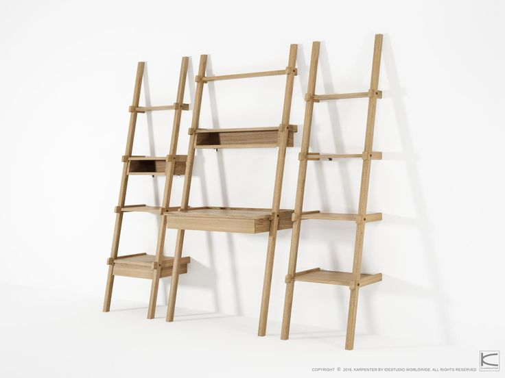 Urban living makes use of vertical space, and demands the ability to climb up high while never loosing sight of what's important in life. The Simply City collection is inspired by space – life balance, using the ladder as a playful and elegant metaphor. Made from solid wood, the collection offers practical, high quality solutions.   www.karpenter.com