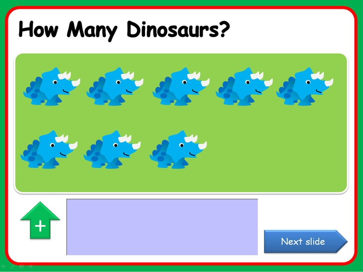 PowerPoint presentation, with a dinosaur theme, that uses action buttons and triggers. Each slide allows for simple number work to 10 and includes a live text box so that comments or questions can be added while the presentation is running. Clearly laid out , the presentation uses triggers that enable you to move through the activity at your own pace, allowing lots of opportunity for mathematical discussion. The Sassoon versions have a embedded font while the Comic Sans version is editable.