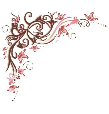 Vintage border flowers vector by christine-krahl - Image #1887002 ...